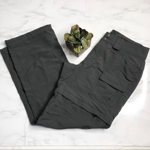 The North Face high rise zip off convertible pants